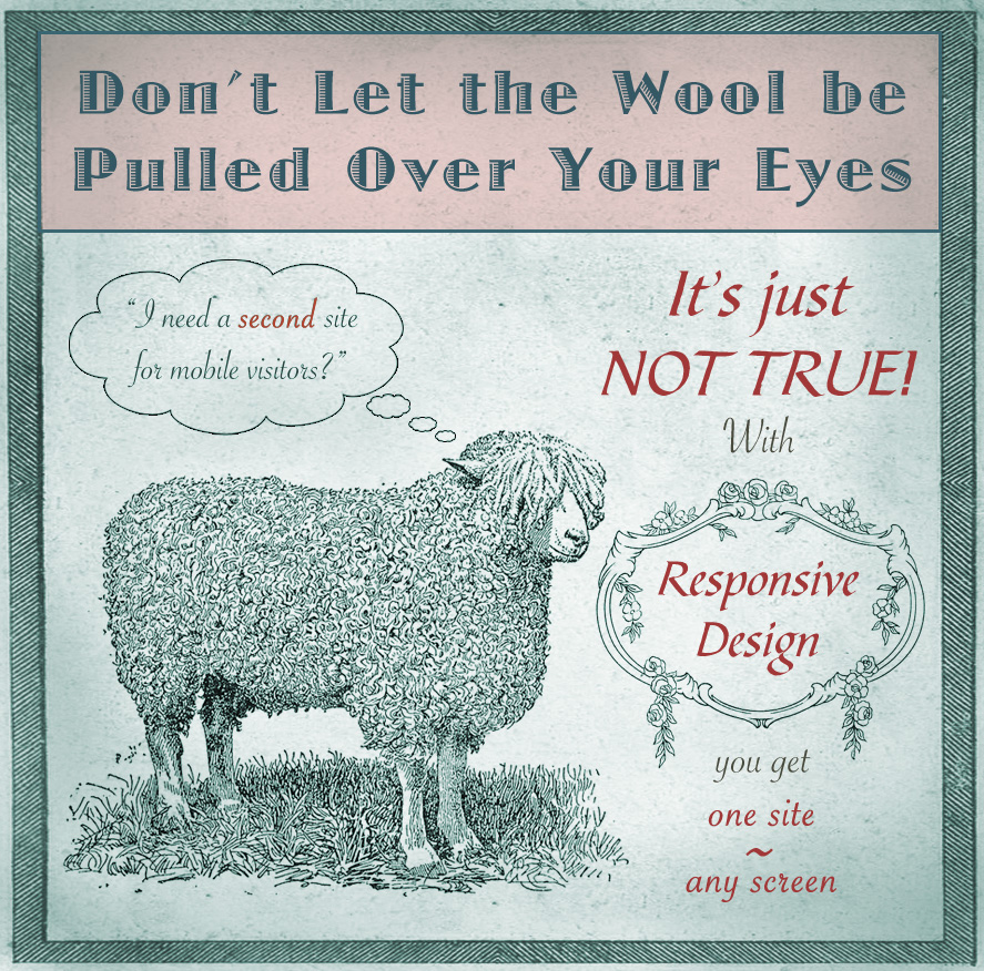 don't let the wool be pulled over your eyes
