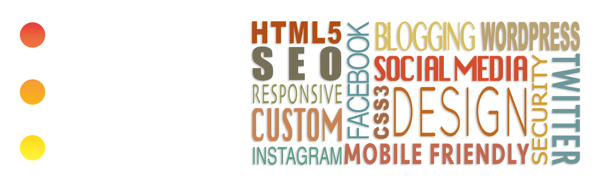 custom wordpresswebsites, social media integration, sep, blogging and more